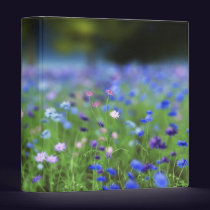Cornflower Blue Binder