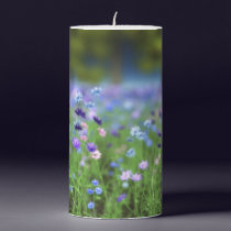 Cornflower Blue Candle