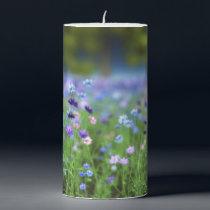 Cornflower Blue Candle