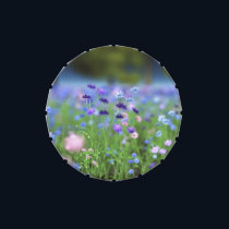 Cornflower Blue Candy Tin