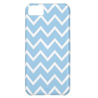 Cornflower Blue Chevron iPhone 5 Case