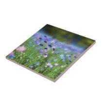 Cornflower Blue Decorative Tile
