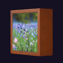 Cornflower Blue Desk Organizer