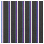 [ Thumbnail: Cornflower Blue, Indigo, Beige & Black Colored Fabric ]