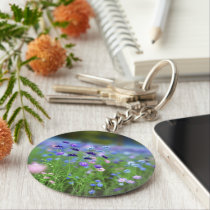 Cornflower Blue Keychain