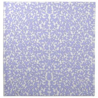 Cornflower Blue Lace Napkin