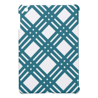 Cornflower Blue Lattice iPad Mini Cases