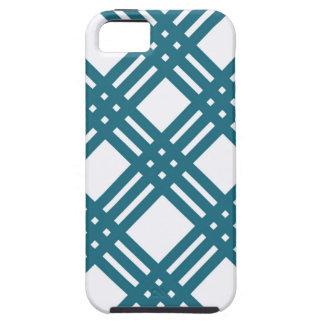 Cornflower Blue Lattice iPhone SE/5/5s Case