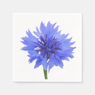 cornflower blue napkin