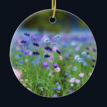 Cornflower Blue Ornament