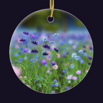 Cornflower Blue Ornament
