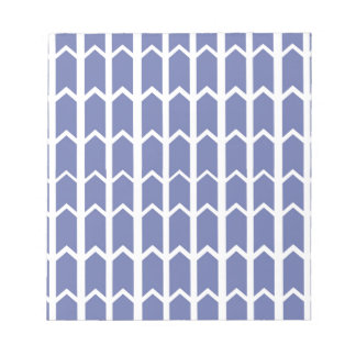 Cornflower Blue Panel Fence Notepad