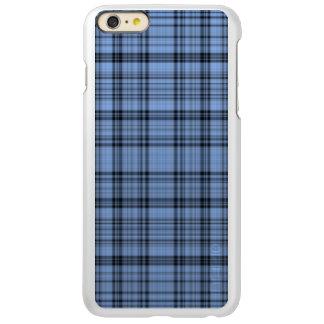 Cornflower Blue Plaid Incipio Feather Shine iPhone 6 Plus Case