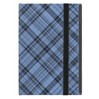 Cornflower Blue Plaid iPad Mini Case