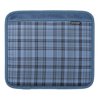 Cornflower Blue Plaid iPad Sleeve