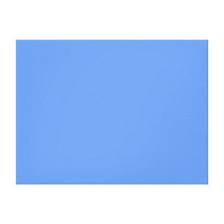 Cornflower Blue Solid Color Canvas Print