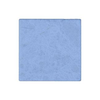 Cornflower Blue Solid Color Stone Magnet