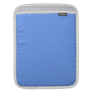 Cornflower Blue Solid Color Sleeve For iPads