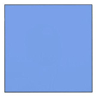 Cornflower Blue Solid Color Wood Print