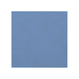 Cornflower Blue Solid Color Wood Wall Decor