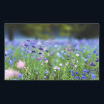 Cornflower Blue Stickers