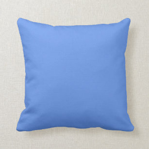 Cornflower Blue Pillows Decorative Amp Throw Pillows Zazzle