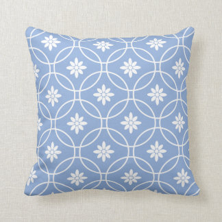 Blue Geometric Throw Pillows : Geometric Pillows - Decorative & Throw Pillows Zazzle