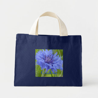 Cornflower Blues Mini Tote Bag