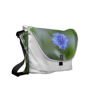 Cornflower bonito bolsas de mensajería