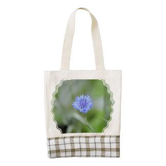 Cornflower bonito bolsa tote zazzle HEART
