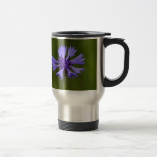 Cornflower (Centaurea cyanus) Travel Mug