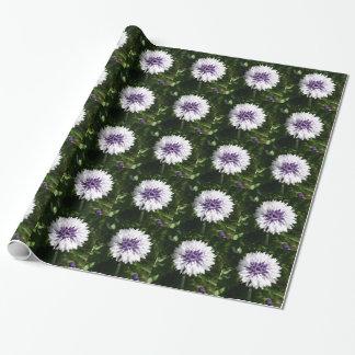 cornflower papel de regalo