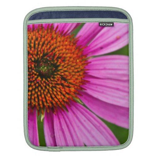 Cornflower púrpura mangas de iPad