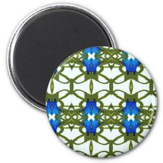 Cornflower Series 2 Inch Round Magnet