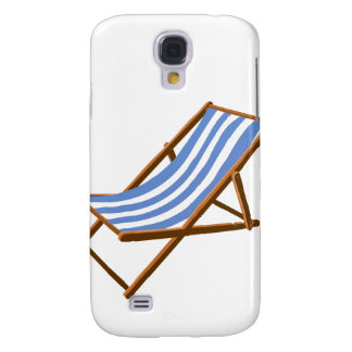 cornflower striped wooden beach chair.png samsung galaxy s4 case