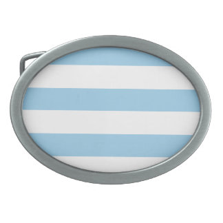 Cornflower Stripes Belt Buckle