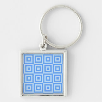 Cornflower Tiles Keychain