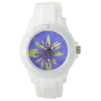 cornflower wrist watch