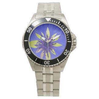cornflower wristwatch