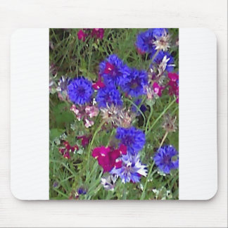 Cornflowers in the Wild Mouse Pad