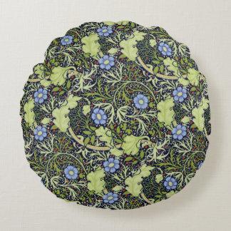 Cornflowers Round Pillow