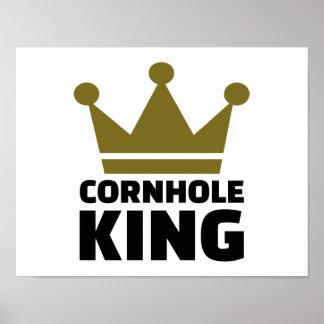 Cornhole king poster