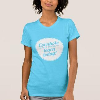 Cornhole You Gonna Learn Today Dark T-Shirt