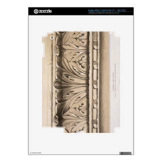 Cornice Moulding, From a Tomb in the Church of S.S iPad 3 Decal