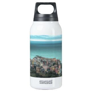Corniglia on the cliffs, Cinque Terre Italy 10 Oz Insulated SIGG Thermos Water Bottle