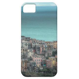Corniglia on the cliffs Cinque Terre Italy iPhone 5/5S Covers