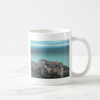 Corniglia on the cliffs, Cinque Terre Italy Classic White Coffee Mug