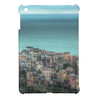 Corniglia on the cliffs Cinque Terre Italy iPad Mini Cases