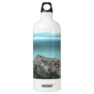 Corniglia on the cliffs, Cinque Terre Italy SIGG Traveler 1.0L Water Bottle