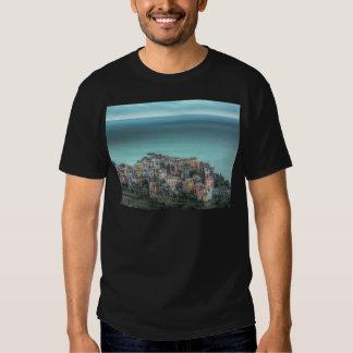 Corniglia on the cliffs, Cinque Terre Italy Tshirt